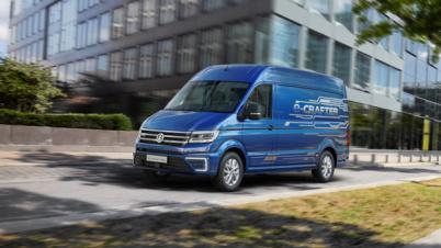 续航200公里,大众纯电动货车e-Crafter2017年将进入欧洲市场