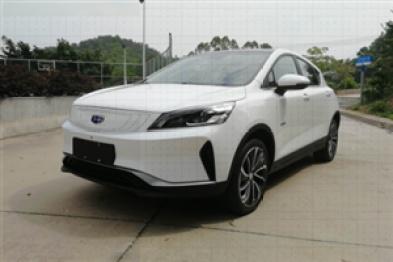首爆吉利首款纯电动城市跨界SUV ,续航或超400km