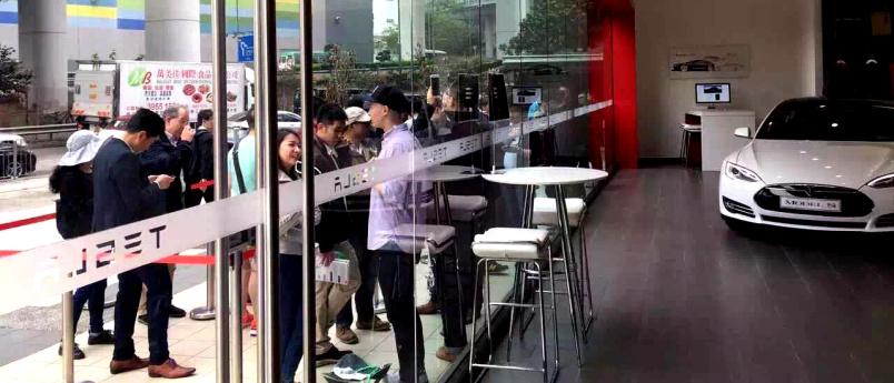 特斯拉率先宣布降价后成交火爆:沪上门店部分车型一天售罄