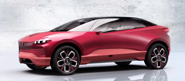 纯电动概念车XEV