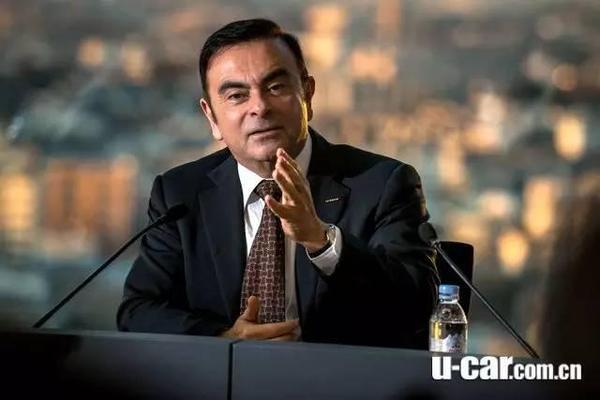 国外媒体消息指出,雷诺可能在高层人员可能都知情下,废气排放造假长达25年。图为雷诺总裁Carlos Ghosn。
