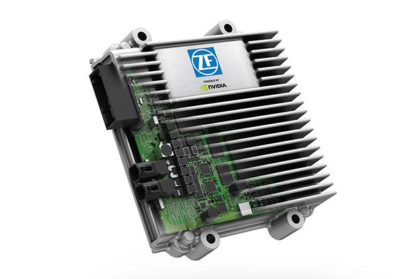 ZF联合NVIDIA推出的ProAI自动驾驶汽车平台