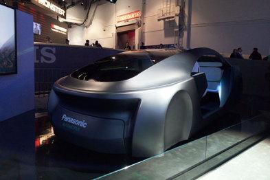 ?#19978;?#21457;布自动驾驶技术概念车| CES2017