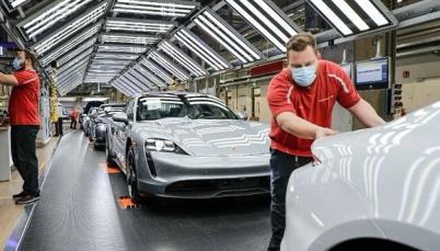 保时捷欧洲工厂逐步复工生产