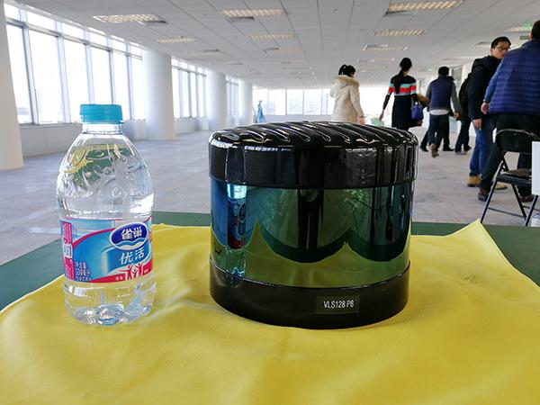 VLS-128™大小(参考350ml小瓶矿泉水)