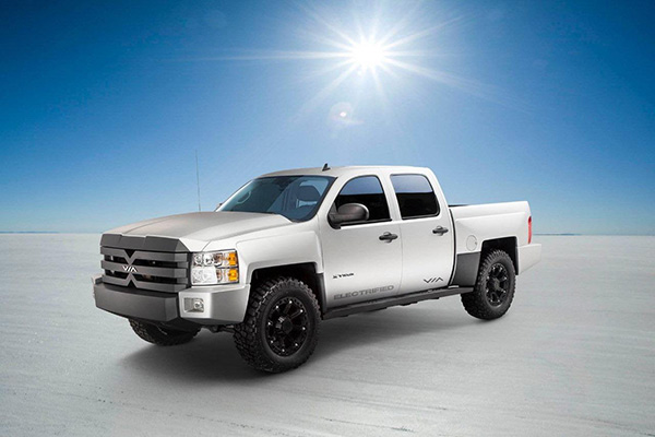 VIA MOTORS曾发布的产品X-Truck