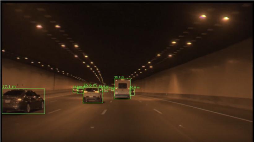 黑科技,前瞻技术,自动驾驶,英伟达神经网络,英伟达探测车辆距离,英伟达车辆与其他物体间距离,英伟达深度神经网络,汽车新技术