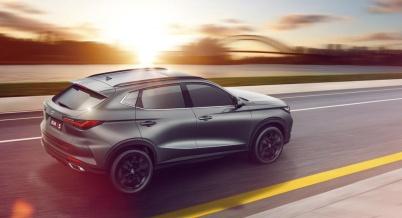 超感·新运动SUV长安欧尚X5内饰图发布 专为后浪而来
