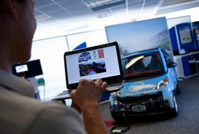英特尔车载方案平台,目标直指无人驾驶