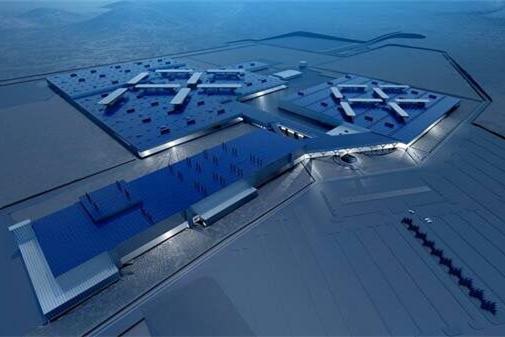Faraday Future工厂效果图
