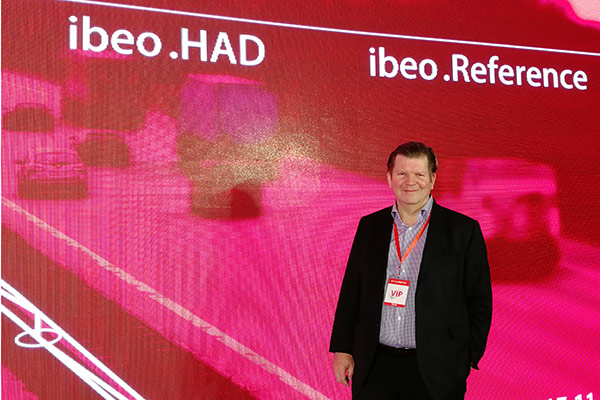 Ibeo CEO Dr. Ulrich Lages