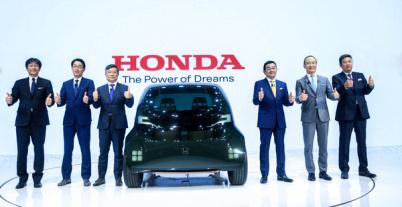 Honda上海车展发布电动化加速发展方向