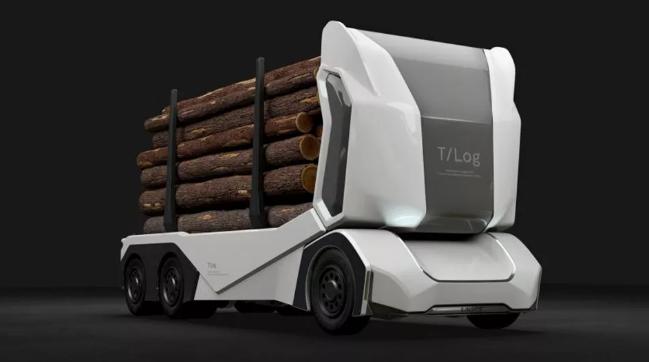 T-log:纯电动伐木卡车