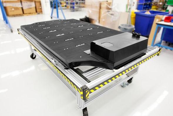 特斯拉Model S的电池包