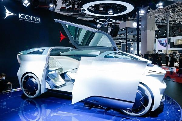 意柯那Nucleus概念車登陸2019上海車展