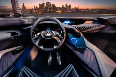 雷克萨斯UX概念车3D内饰设计曝光