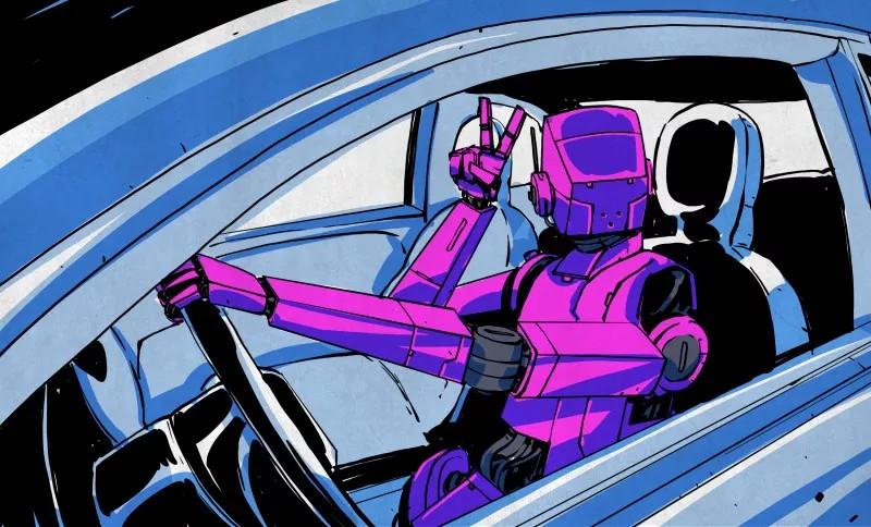"""自动驾驶会导致AI""""奇点""""后的失控吗?"""