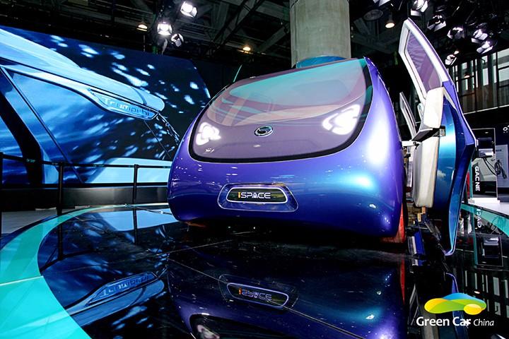 广汽新能源iSPACE概念车