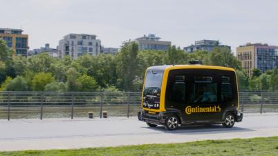 大陆集团自动驾驶出租车技术投入批量生产