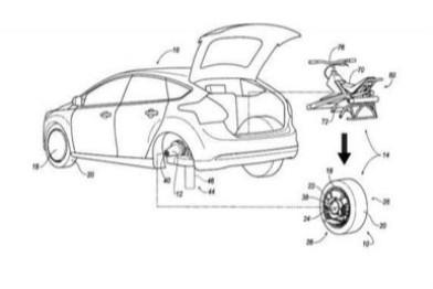 福特新专利:后车轮可取下作为独轮车