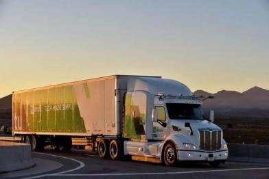 图森未来获国内首张自动驾驶卡车路测牌照,自动驾驶卡车未来可期