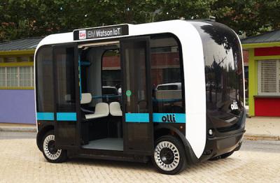 IBM与Local Motors共同开发自动驾驶巴士