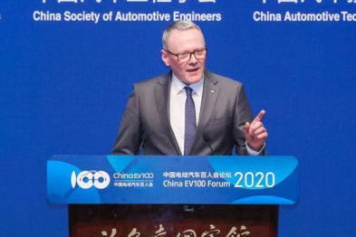 大众中国冯思翰:为新能源汽车发展再次注入活力至关重要