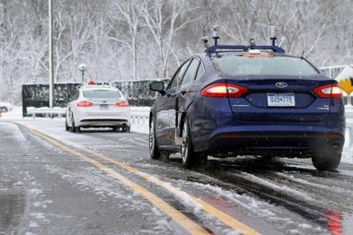 视频 | 福特雪天测试自动驾驶汽车,传感器失效怎么办?