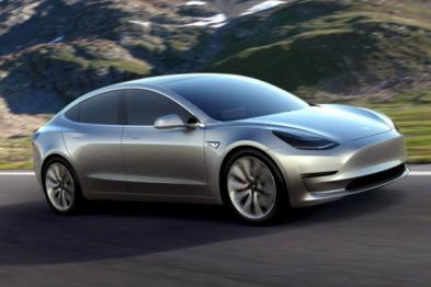 """Model 3将配备""""暴走""""模式:百公里加速仅2.8秒"""