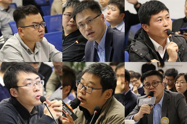LINC2016北京加速赢活动现场,部分评委精彩点评