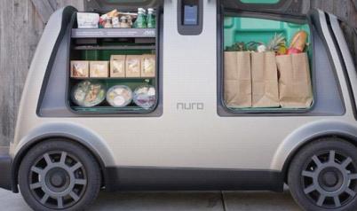 Nuro与日用品巨头Kroger合作,将提供自动送货舱