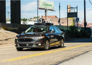 Uber无人驾驶汽车误入自行车道 正加紧修复缺陷