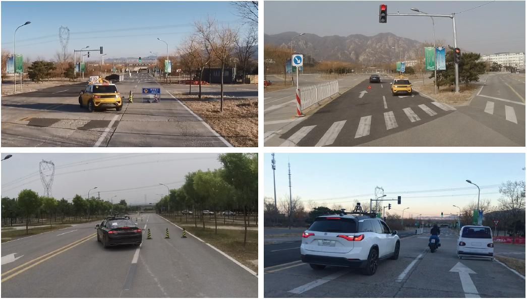自动驾驶测试场地场景设置