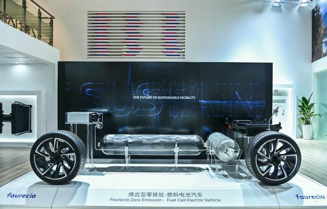 佛吉亚零排放燃料电池车