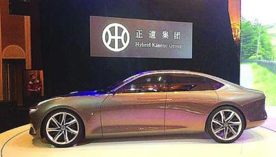 正道汽车2020大规模量产,预计售价20万元
