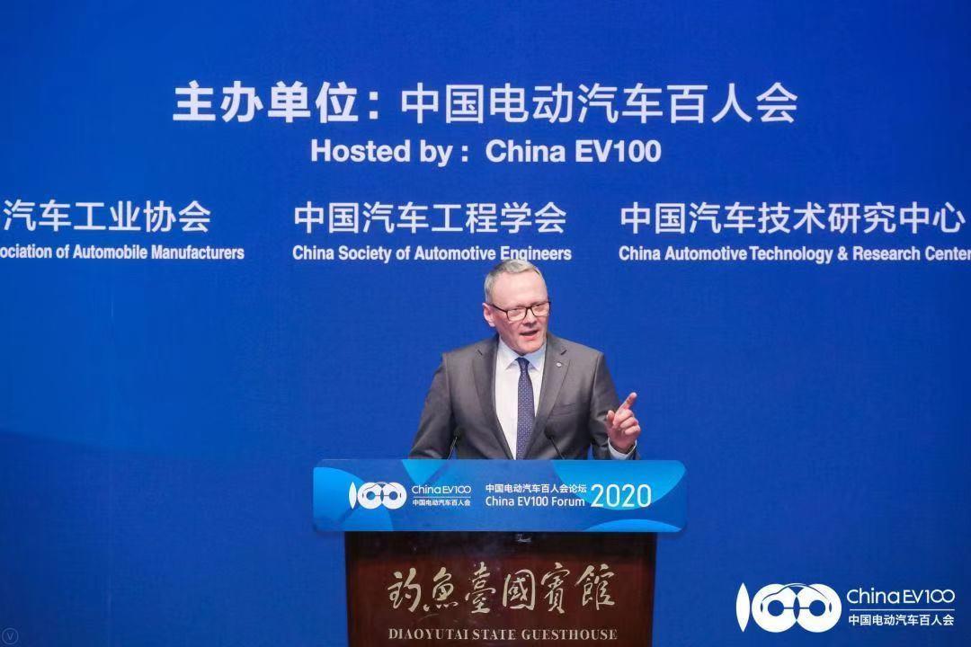 大众汽车集团(中国)CEO、大众汽车乘用车品牌中国CEO冯思翰博士