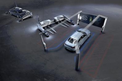 """""""智能交通现在时""""之设施篇:机器人Ray,德国机场的停车男仆"""
