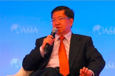 博鳌论坛龙永图谈合资股比:市场经济不应搞民族主义,50%的限制意义不大
