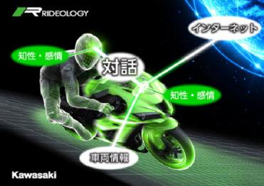 这辆摩托车可以向驾驶者学习,还能一起成长