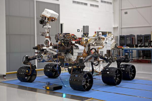 使用Vxworks的好奇号火星探测器