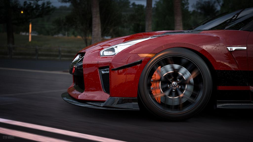 日产GTR,图片来自网络