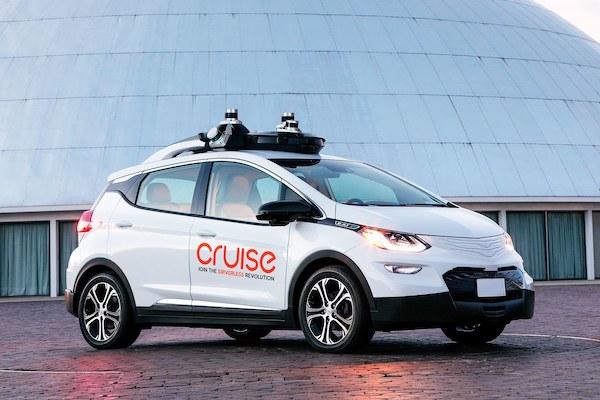 通用第三代自动驾驶测试车
