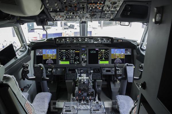 波音737Max的驾驶舱