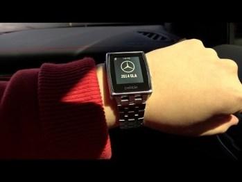 试玩报告:用智能手表Pebble开奔驰