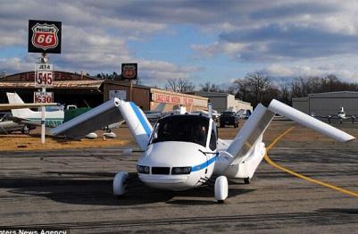 最土豪的新年礼物:给自己来一辆飞行汽车Transition