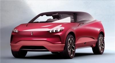 长城WEY电动SUV概念车亮相法兰克福车展