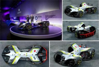Roborace发布纯电动无人驾驶赛车