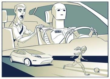 为什么两难境地下奔驰选择让自动驾驶汽车撞向行人?