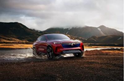 别克用一款名叫Enspire的概念车,讲述了传统巨头的未来故事