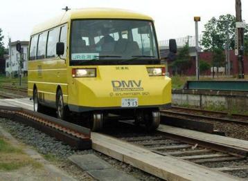 """""""公铁""""两用车在日本测试,15秒完成模式切换"""